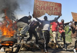 Mass Struggles Continue in Burundi
