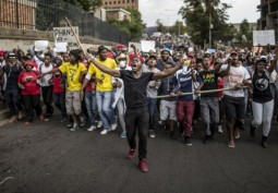 Students' Rebellion in South Africa