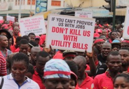 Trade Unions in Ghana Protest Price Increases and Poverty