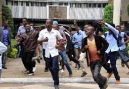 Socialists Support University of Nairobi Students Protest