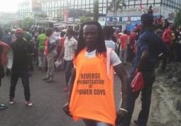 Unions and Civil Society Groups Picket Ikeja DISCO