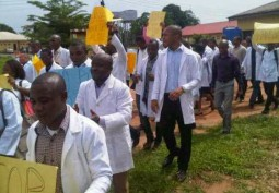 Jos: Junior Doctors Take to the Streets