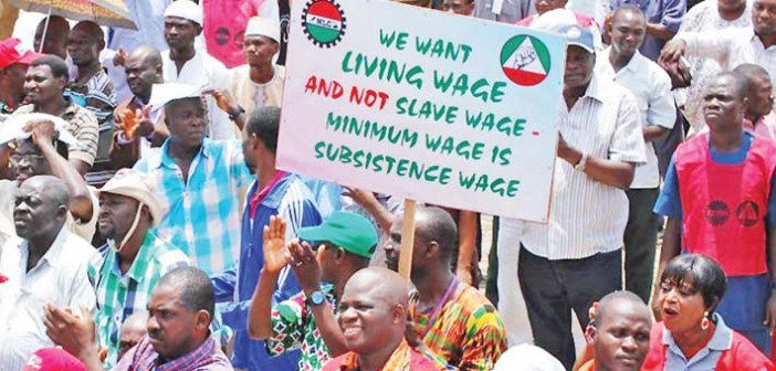 protest-minimum wage