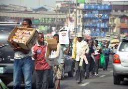 Lagos Bans Street Trading