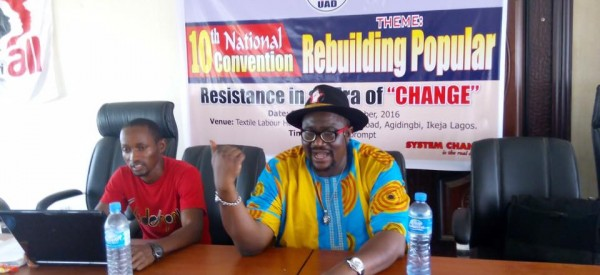 """Towards Rebuilding Popular Resistance in an Era of """"Change"""": UAD holds 10th National Convention"""