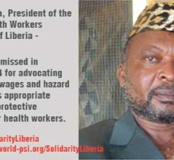 Reinstate Joseph Tamba and George Poe Williams in Liberia