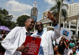 Striking Doctors in Kenya Face Nigerian Like Conditions