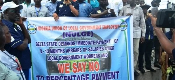 Wave of Protests by Delta LGA Workers