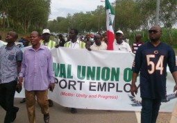 Air Workers Protest Concession of Airports