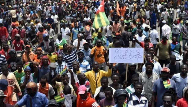 Revolutionary Pressures in Togo