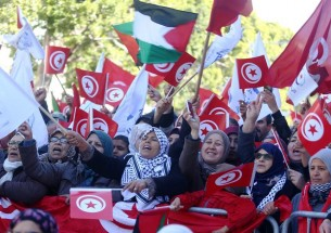 Protests in Iran and Tunisia