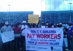 GALBA Workers Take Action on May Day