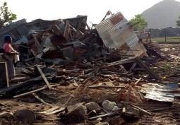 Gosa Market Demolished