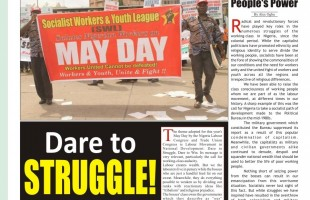 Socialist Worker, May – June 2018