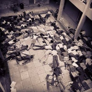 Gruesome scene of murdered students at the Garissa University College