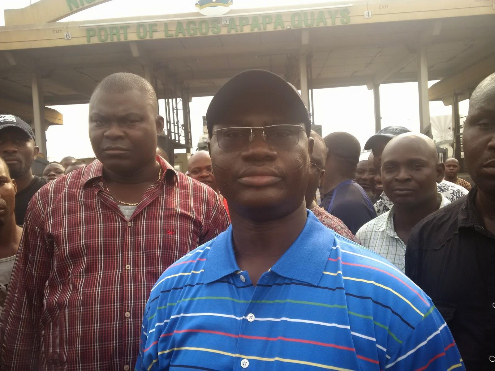 Com Adewale Adeyanju, MWUN President
