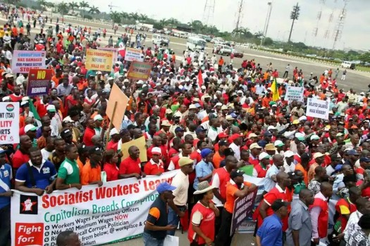SWLers at the NLC anti-corruption rally on September 10