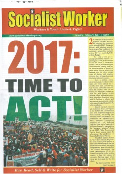 Socialist Worker, Jan-Feb 2017